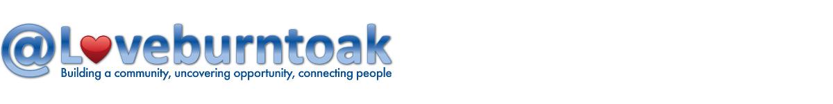 @Loveburntoak Logo